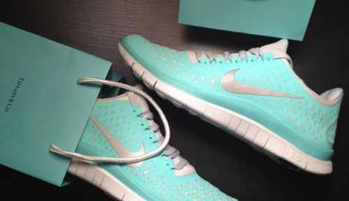 Tiffany running shoes